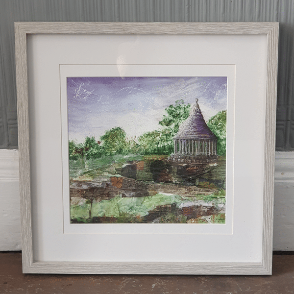 Bandstand Original Framed by Sarah Rowley