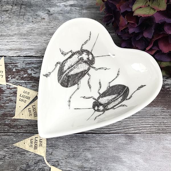 Beetle heart dish
