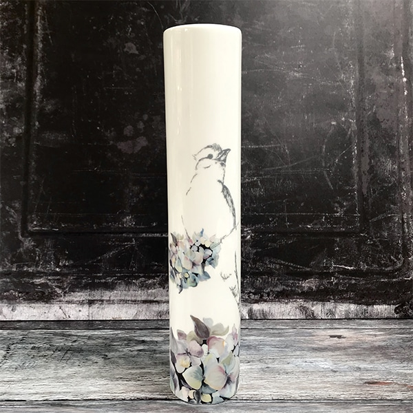 Bird H vase