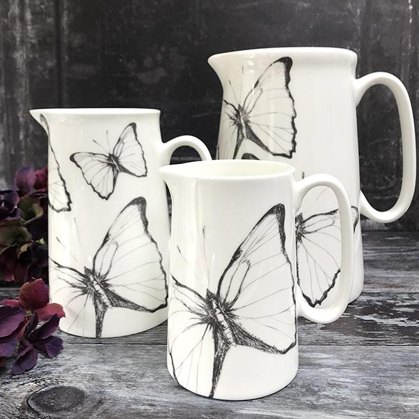 Butterfly jugs