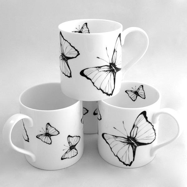 Butterfly mug 1