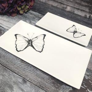 Butterfly platter