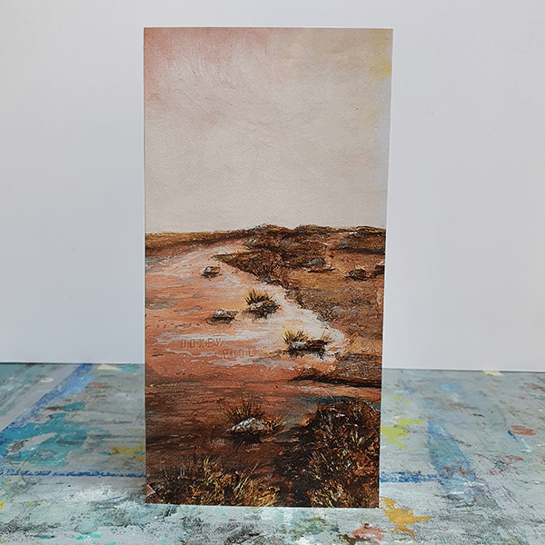 Doxey Pool front Greeting Card by Sarah Rowley