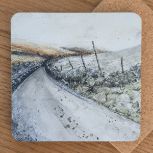 Frost Moorlands Coasters by Sarah Rowley from Roaonokeart.co .uk