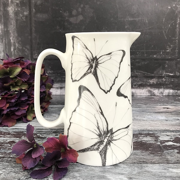 Large Butterfly Jug 2