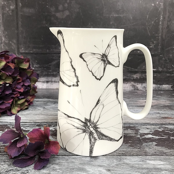 Large Butterfly jug