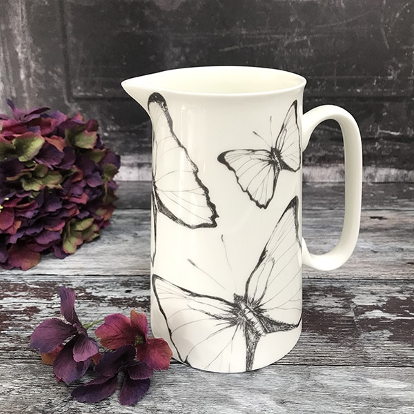 Large Butterfly jug1