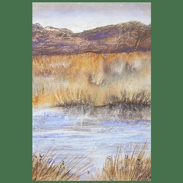 Moorlands 2 Framed Original by Sarah Rowley