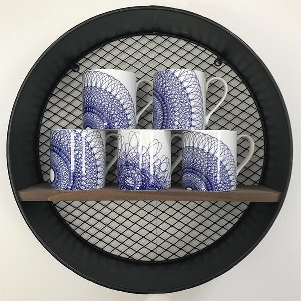Spirograph mugs