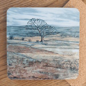 Staffordshire Tree Coasters by Sarah Rowley from Roaonokeart.co .uk
