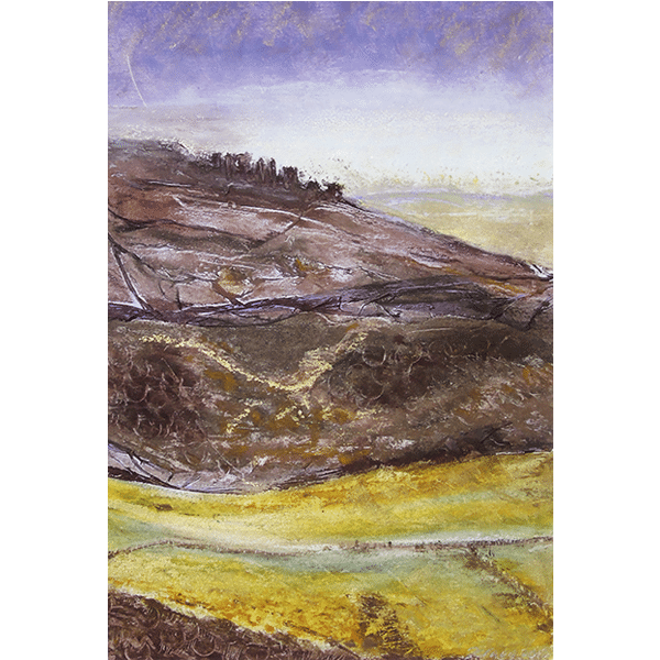View from Ramshaw Rocks 2 Framed Original by Sarah Rowley