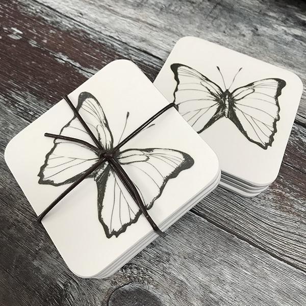 single butterfly coaster
