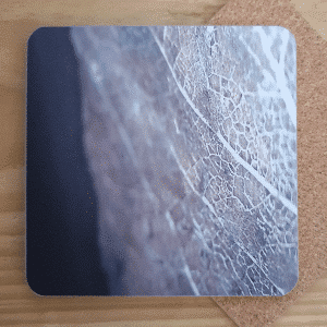 Coaster Gold Leaf by Sarah Rowley from Roaonokeart.co .uk