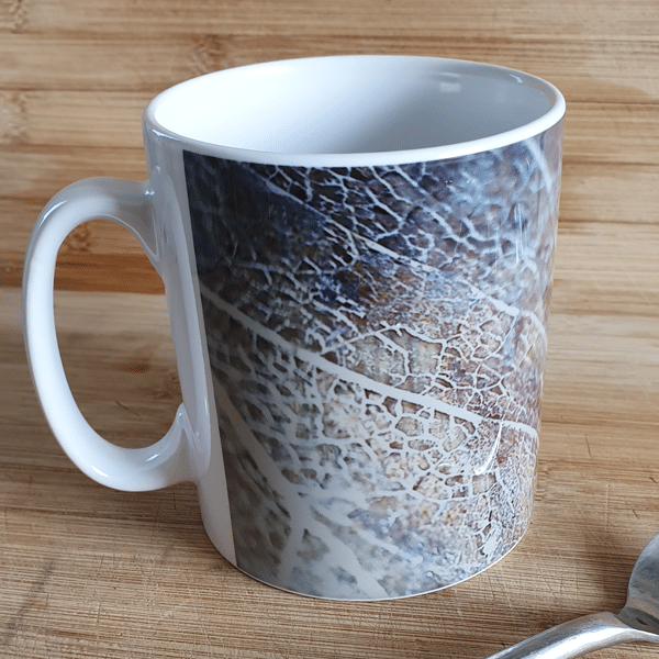 Gold leaf1 mugs by Sarah Rowley from Roaonokeart.co .uk