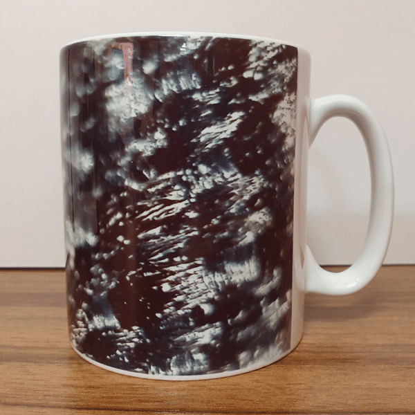 Grey Mesh Mugs by Sarah Rowley from Roaonokeart.co .uk