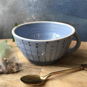 Seed Royal Blue Tea Cup
