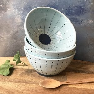 Seed sky blue medium bowl