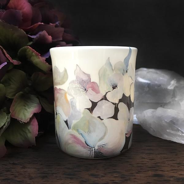 Bird hydrangea Tealight 3 r