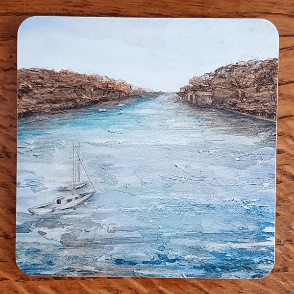 Coaster Rudyard by Sarah Rowley