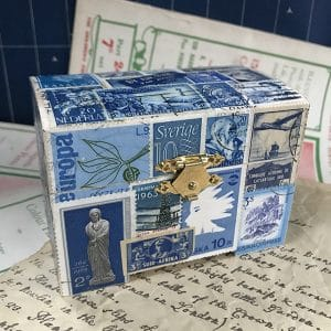 TC6 Blue stamp box