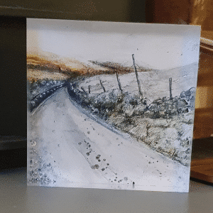 Art Block Frosty Moorlands by Sarah Rowley