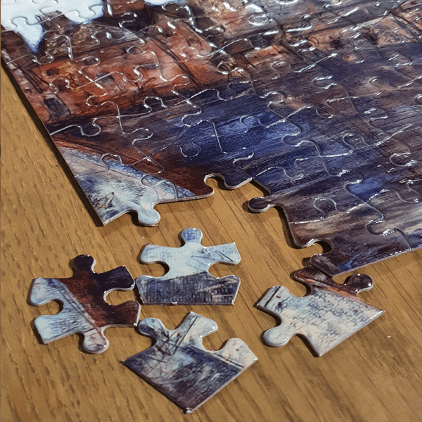 Staffordshire Art Jigsaws by Sarah Rowley