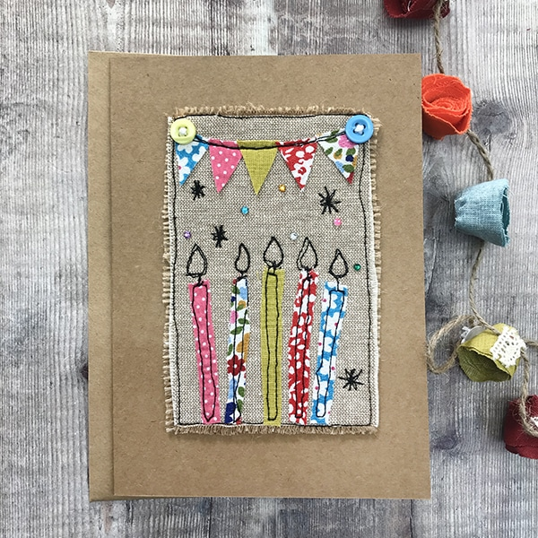 Card candles