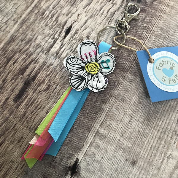 Keyring music note s