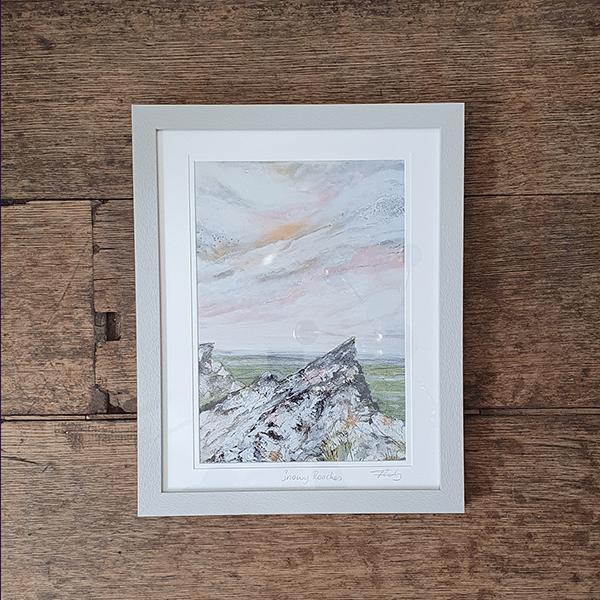 Print of Snowy roaches by sarah rowley