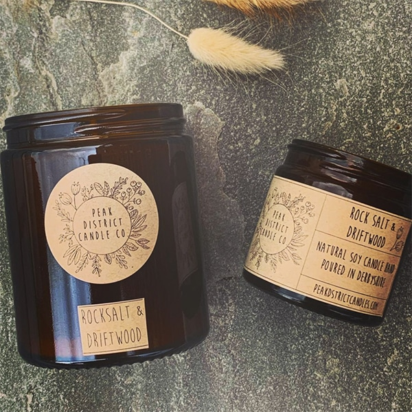 candles 60ml and 180ml