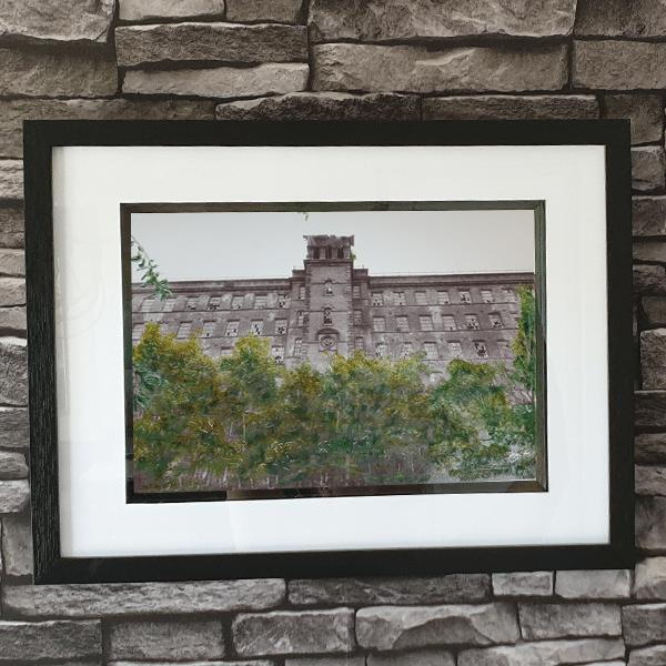 Big Mill wall