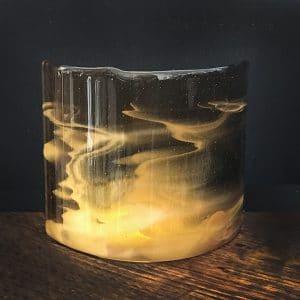 G48 amber glass cy