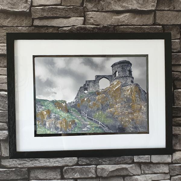 Mow Cop Castle by Sarah Rowley