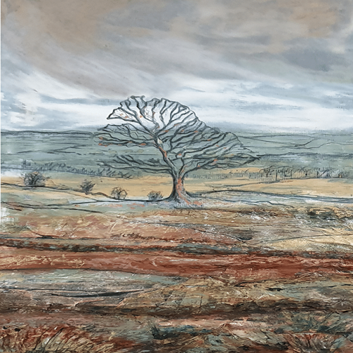Staffordshire Tree by Sarah Rowley